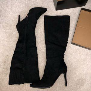 Knee High Heels